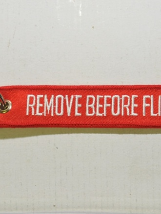Portachiavi Remove before flight