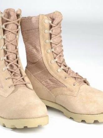 Anfibi Militari modello Americano da Deserto :: Anfibi e