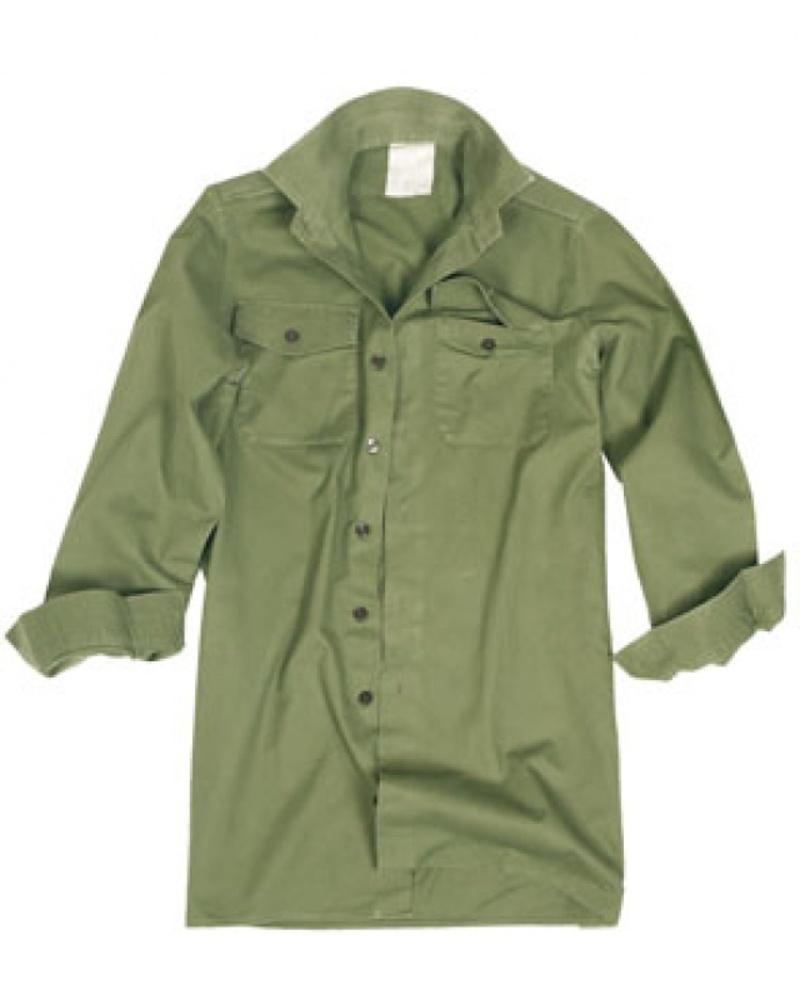 best loved 51cad b15b8 Camicia originale British Army verde militare