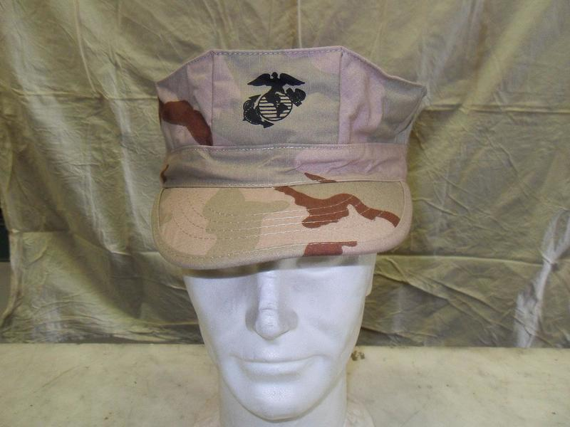 Berretto Marines US Army desert 3 colori