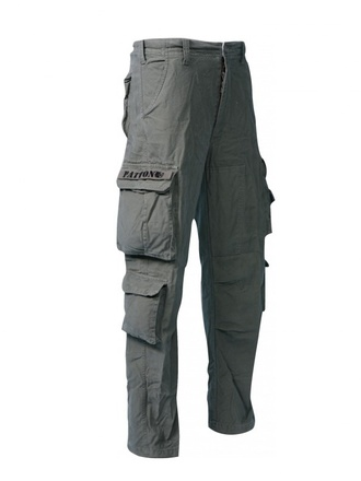 Pantalone pilota PATTON stone washed