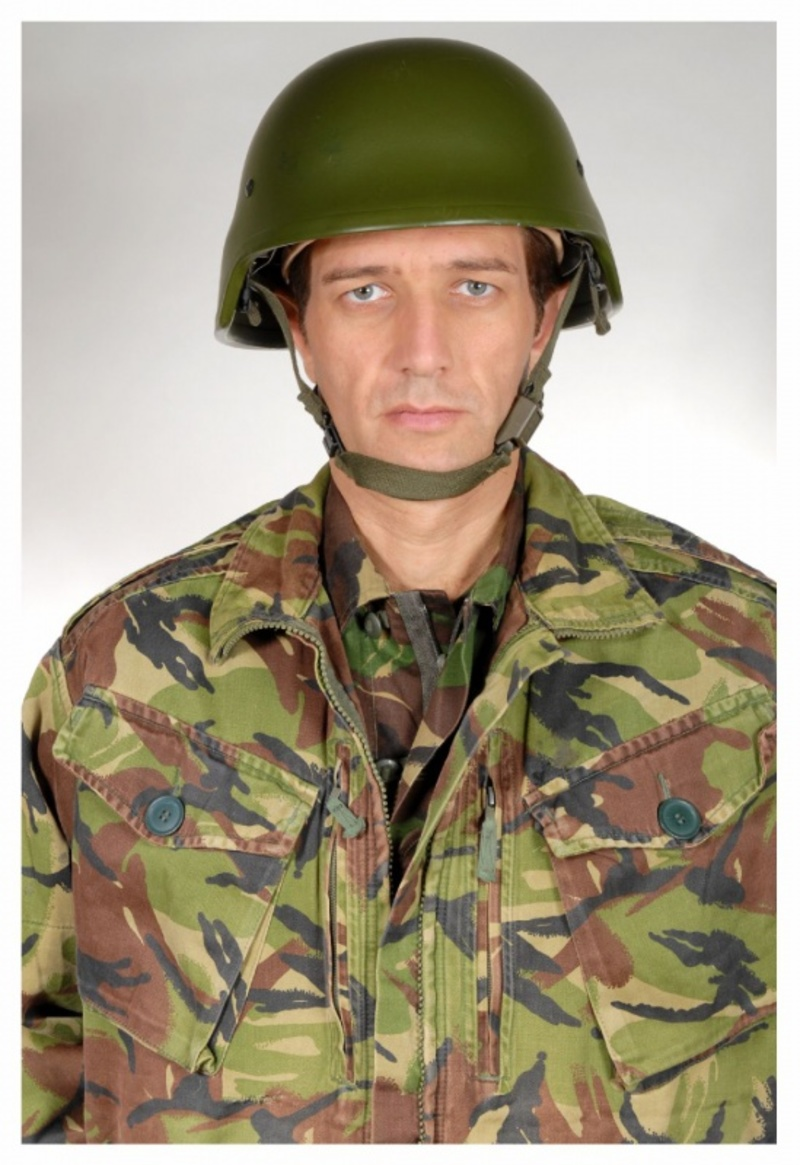 Giacca militare inglese ripstop