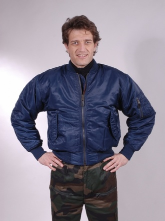 Bomber MA1 blue navy