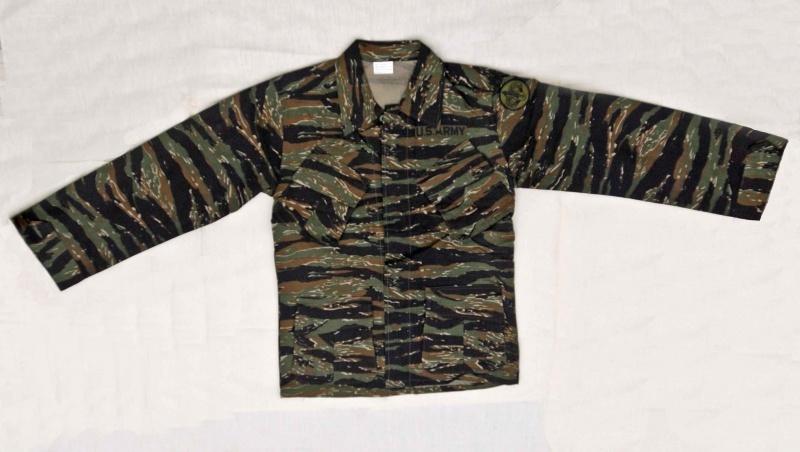 Mil-Tec BDU combattimento Camicia Tiger Stripe