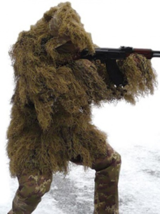 Ghillie parka anti fire