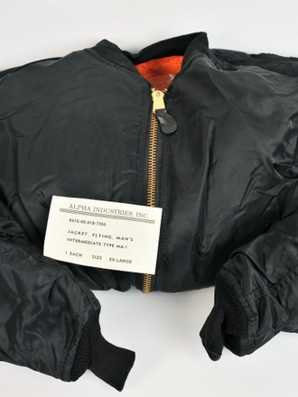 Bomber MA1 nero originale USA