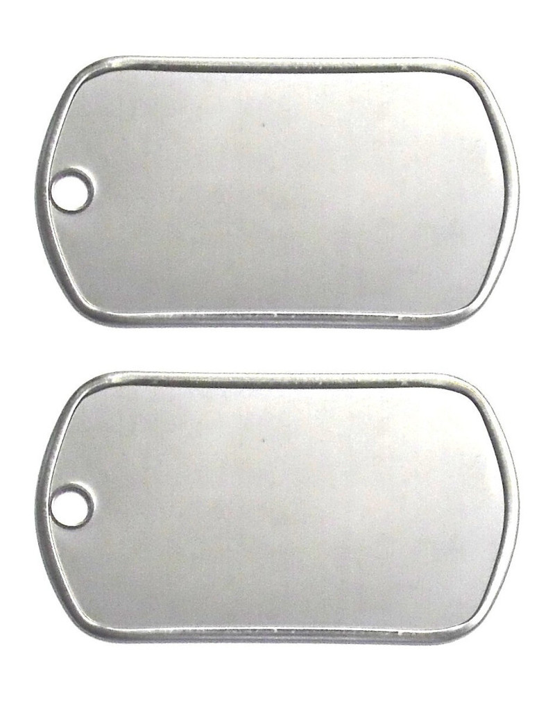 Dog tags punzonate personalizzate