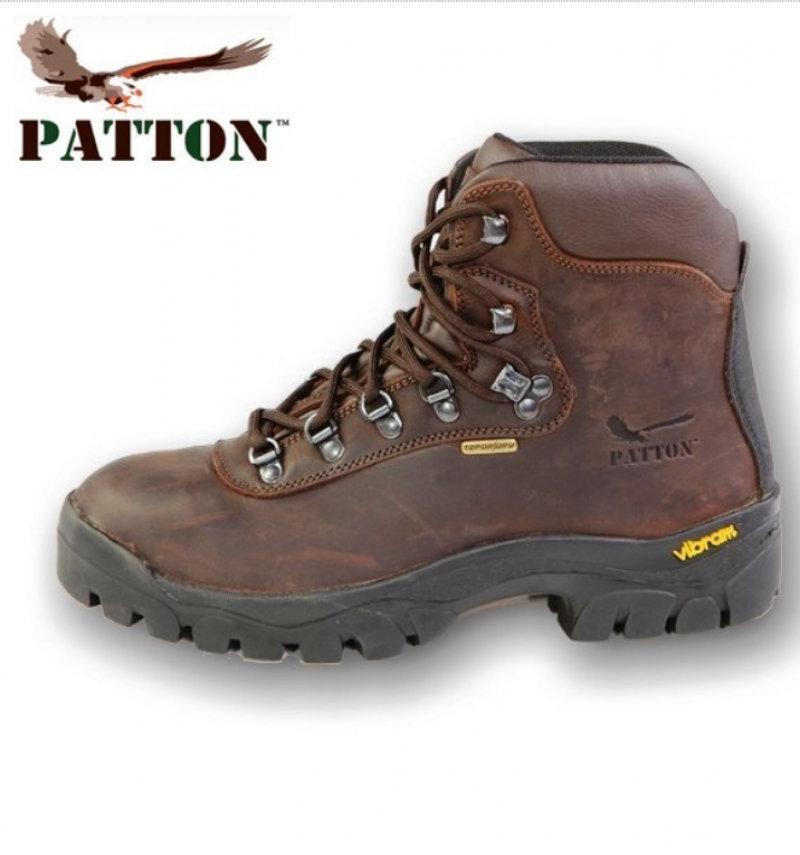 outlet store 79ae7 9ac76 Scarponi PATTON S12 in pelle impermeabile difettati!