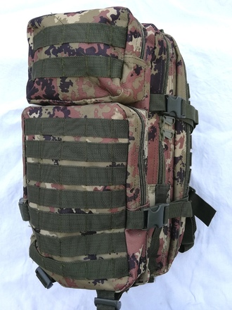 Zaino MOLLE vegetato PLUS