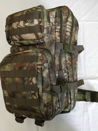 Zaino MOLLE 40 litri PATTON Green Snake