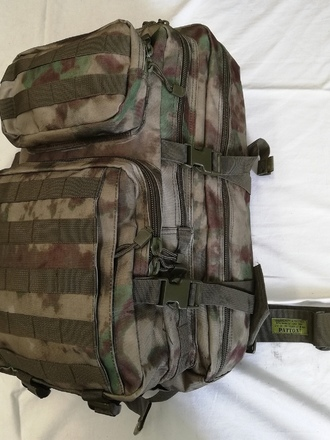 Zaino MOLLE 40 litri Patton Green Rock