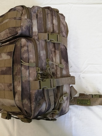Zaino MOLLE 30 litri Patton Camo Rock