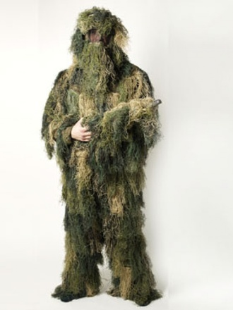 Ghillie set antifire