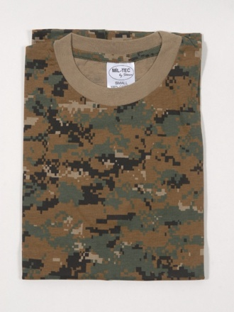 T-shirt US digital camo