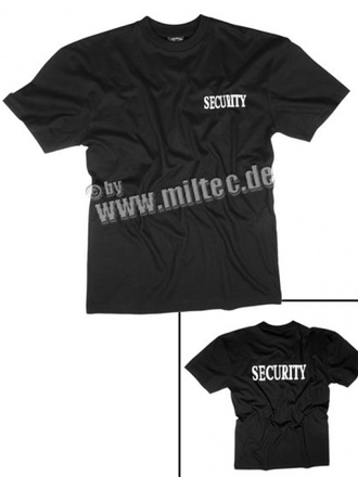 T-shirt SECURITY new