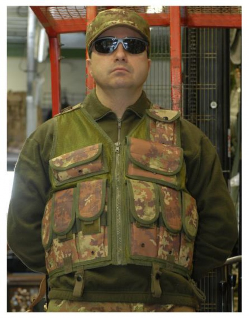 Tactical vest M16 vegetato