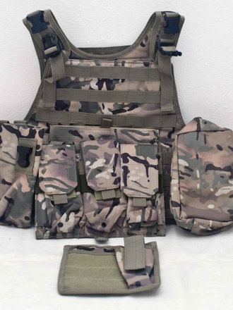 Tactical vest multicam