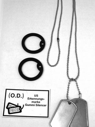 Placche, piastrine militari e dog tags