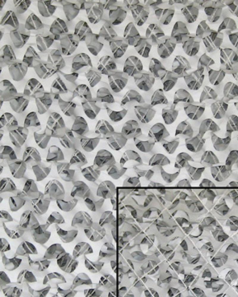 Rete a foglie bianca 6x3 metri for Rete con foglie finte