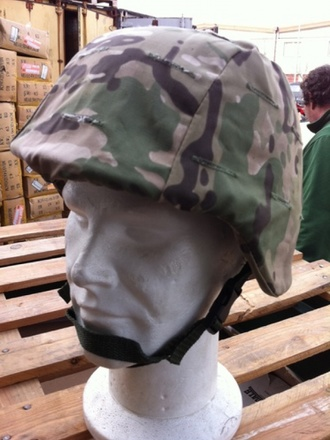Casco soft air telino multicam